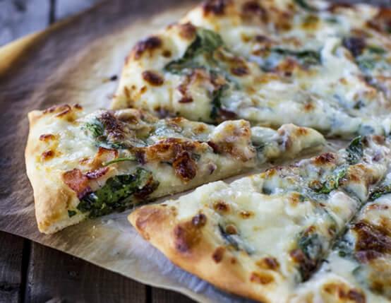 Spinach Bacon Ranch Pizza Recipe