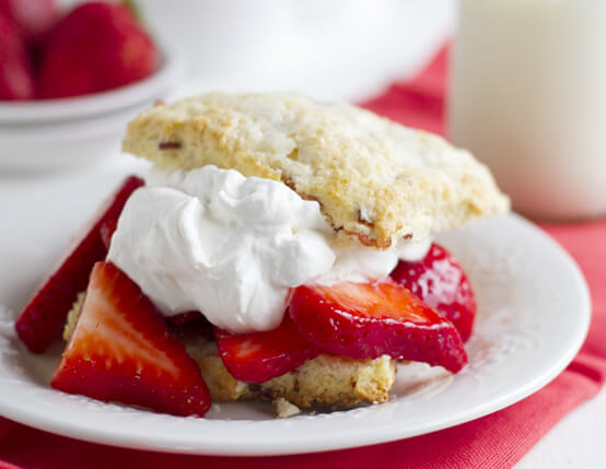 Strawberry Bacon Shortcakes Recipe