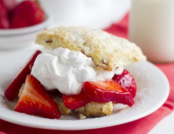 Strawberry Bacon Shortcakes Recipe