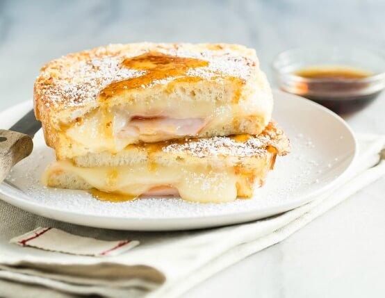 Sweet Hot Monte Cristo Recipe