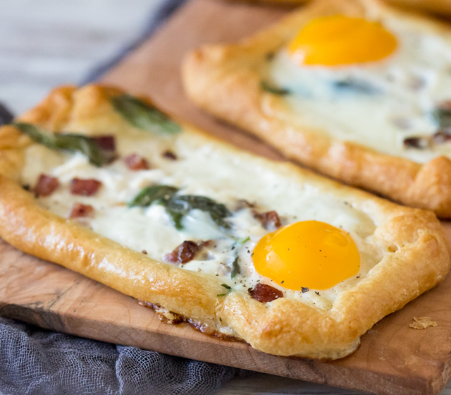 Goat Cheese and Bacon Recipe