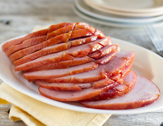Apricot Honey Glazed Ham Recipe