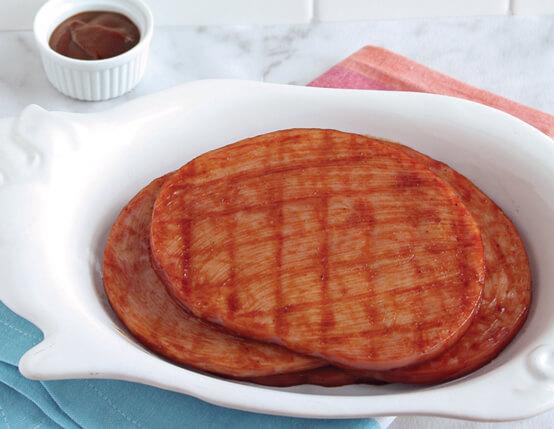Best Ever Barbecued Ham Steaks Great Ham Steak Recipe Jones