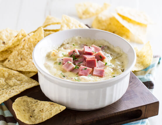 Chicken Cordon Bleu Dip with Jones Ham Recipe