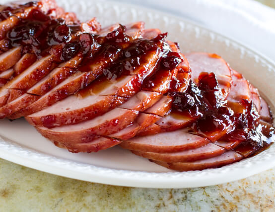 Cranberry Orange Glazed Ham Recipe