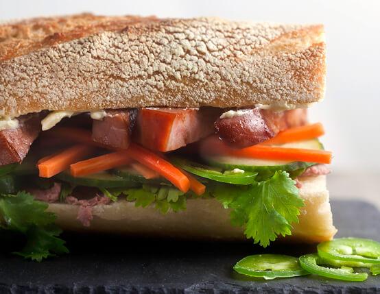 """Ham and Braunschweiger """"Banh Mi"""""""