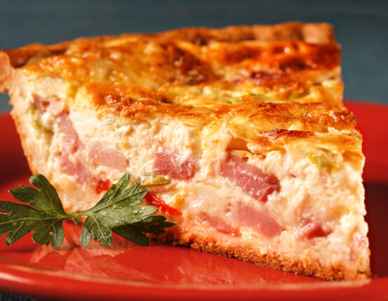 Ham Quiche Recipe