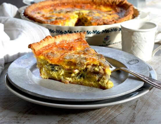 Meat Lover's Quiche