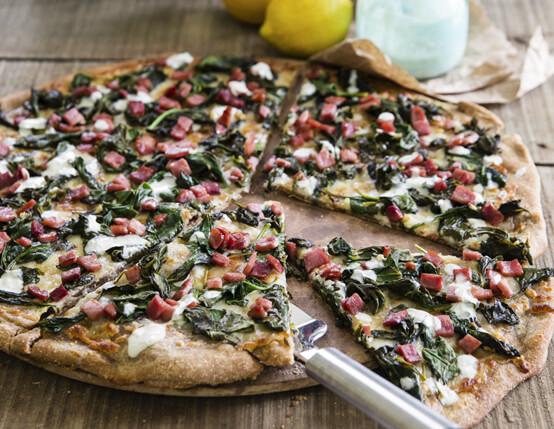 Piggy Green Pizza Recipe