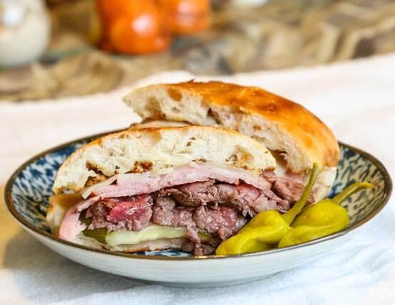 Venison & Ham Cuban Sandwich
