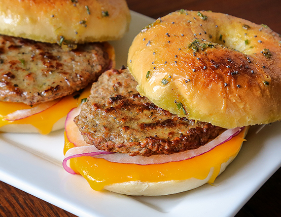 Bagel Breakfast Sliders