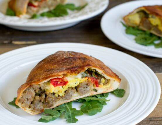 Breakfast Calzones Recipe