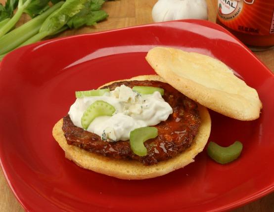 Buffalo Chicken Sausage Breakfast  Sandwich
