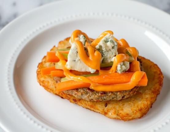 Buffalo Chicken Sausage Breakfast Sandwiches Recipe