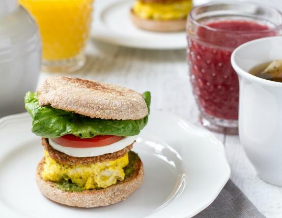 Caprese Breakfast Sandwich