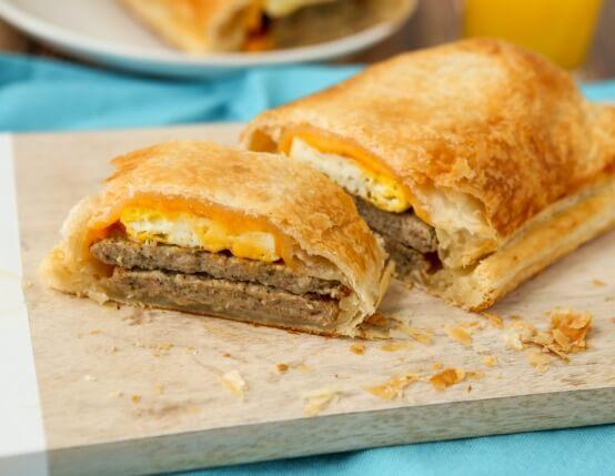 Chicken Sausage Breakfast Wellington Recipe