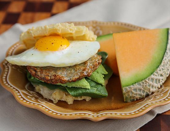 Chicken Waffle Sandwich web