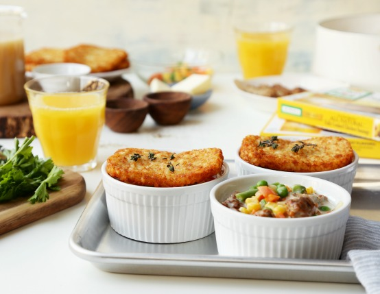 Individual Breakfast Pot Pies