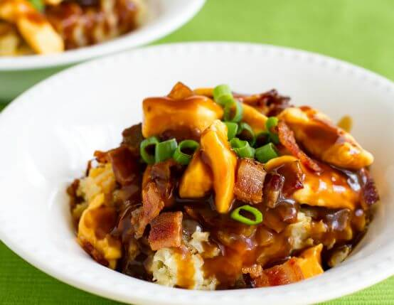 Loaded Poutine Breakfast Casserole Recipe