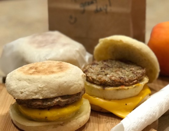 Make Ahead Breakfast Sausage Sandwiches