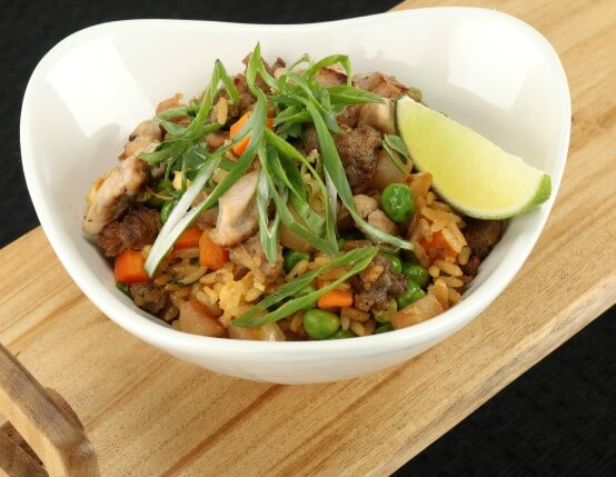 Pheasant Fried Rice