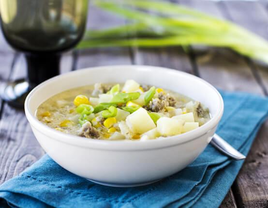 Sausage and Corn Chowder Recipe