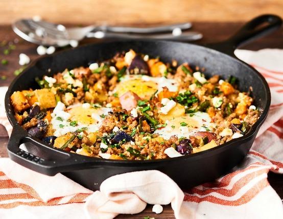 Sausage and Potato Breakfast Hash Recipe
