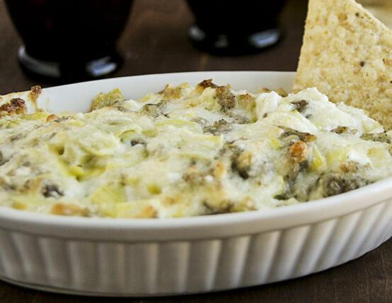 Sausage, Artichoke and Cheese Dip Recipe