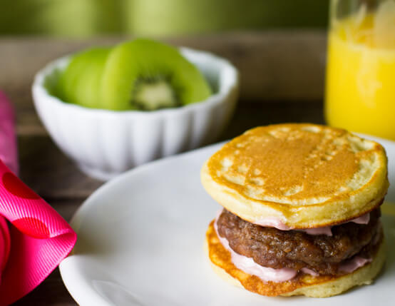 Jones Sausage Pancake Sandwiches Recipe