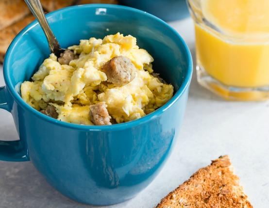 Learn How To Make Scrambled Eggs In A Mug
