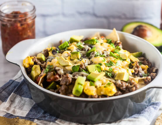 Southwest Breakfast Nachos Recipe