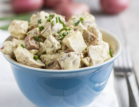 Summer Potato Salad with Sausage Recipe