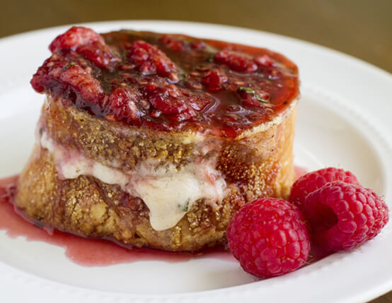 Sweet and Savory Stuffed French Toast Recipe
