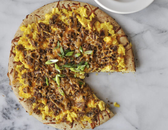 Scrapple Breakfast Pizza Recipe