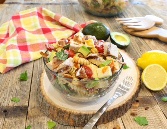 Avocado Club Pasta Salad