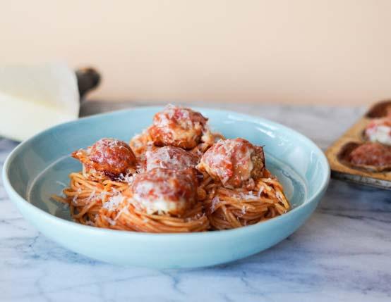 Chicken-Parm-Meatballs-Spaghetti