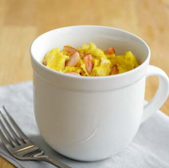Mug Scrambled Eggs