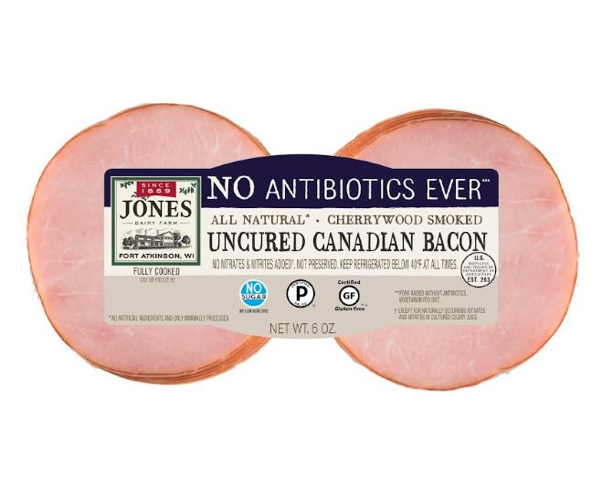 NAE canadian bacon sized