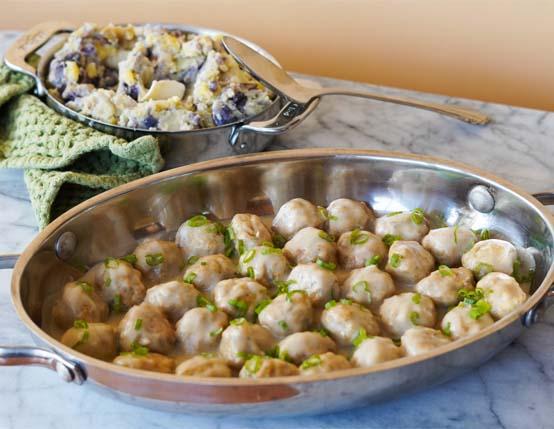 Swedish Chicken Meatballs