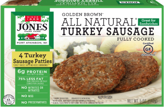 GB Turkey Patties